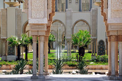 King Hassan II Mosque, Casablanca, Morocco royalty free stock images