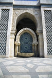 King Hassan II Mosque - Wash basin Royalty Free Stock Photos