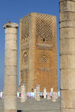 King Hassan Tower Morocco. Hassan Tower or Tour Hassan (Arabic: صومعة حسان‎) is the minaret of an incomplete mosque in Rabat, Morocco.[1] Begun in Stock Images