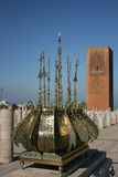 King Hassan Tower Morocco Royalty Free Stock Photos