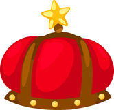 King hat vector Stock Image