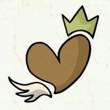 King heart Stock Image