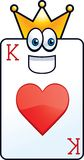 King of Hearts Royalty Free Stock Photography