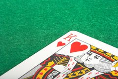 King of hearts Royalty Free Stock Photo