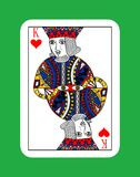 King of hearts Stock Image