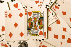 King of Hearts Royalty Free Stock Photos