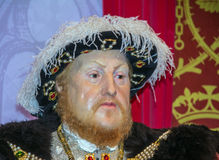 King Henry 8th wax figure  At Madame Tussauds Wax Museum. London Stock Photos