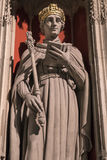 King Henry VI Statue in York Minster Royalty Free Stock Photo
