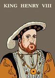 King Henry VIII Stock Image