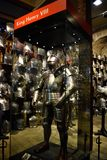 King Henry VIII`s Armour Royalty Free Stock Photos