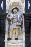 King Henry VIII Sculpture Stock Image