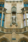 King Henry VIII statue, King's College, Cambridge Royalty Free Stock Photos