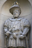 King Henry VIII Statue in London Royalty Free Stock Photos