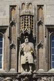 King Henry VIII at Trinity College Cambridge Stock Image