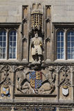 King Henry VIII at Trinity College Cambridge Royalty Free Stock Image