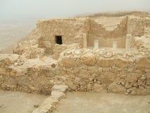 King Herod's palace, Masada, Judaean Desert, Israel. Stock Photos