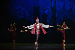 "King hunting- ballet ""One Thousand and One Nights"" Stock Photo"
