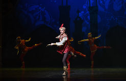 "King hunting- ballet ""One Thousand and One Nights"" Stock Photography"
