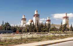 King Hussein Bin Talal mosque Royalty Free Stock Photography