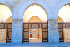 King Hussein Bin Talal mosque Royalty Free Stock Photos
