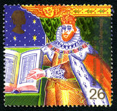 King James Bible UK Postage Stamp Royalty Free Stock Photography