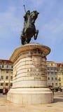 King joao statue Royalty Free Stock Photos