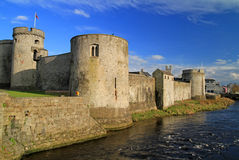 King John castle. In Limerick - Ireland Royalty Free Stock Image