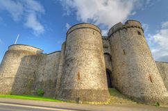 King John Castle in Limerick Stock Photo