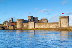 King John Castle in Limerick Stock Images