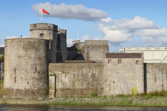 King John Castle walls Royalty Free Stock Photos