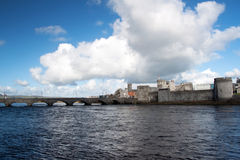 King John's castle in Limerick Stock Photography