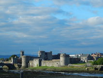 King john's castle limerick. Photo taken from the bridge of shannon river Royalty Free Stock Image