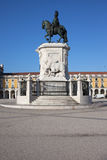King Jose I Monument in Lisbon Royalty Free Stock Photos