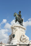King Jose I statue in Lisbon Royalty Free Stock Photo