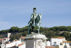 King Jose statue Stock Photo