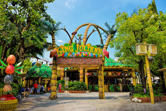 King Julien's (Beach party-go-round) in Universal Studios Singapore Royalty Free Stock Image
