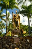 King Kamehameha. The King Of Hawaii Stock Images