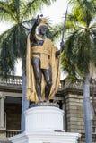 King Kamehameha Statue Royalty Free Stock Photos
