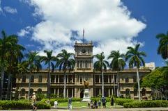 King Kamehameha Statue I In Aliiolani Hale. Seat of the Supreme Court of the State of Hawaii. Oahu, Hawaii, USA, EEUU Stock Image