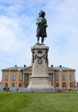 King Karl XI statue Royalty Free Stock Image