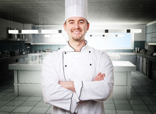 King of kitchen Stock Image