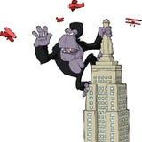 King Kong illustrazione di stock