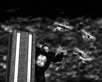 King Kong Classic Hollywood Movie Royalty Free Stock Image