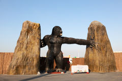 King Kong at the Global Village in Dubai Stock Photo
