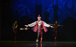 "The king led the guards hunting- ballet ""One Thousand and One Nights"" Stock Image"