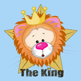 King Lion Royalty Free Stock Photography