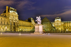 King Louis XIV - Paris, France Royalty Free Stock Photography