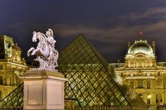 King Louis XIV - Paris, France Stock Photography