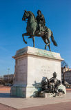 King Louis XIV statue in Lyon France Stock Photo