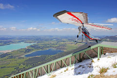 King Ludwig Championship hang gliding competitions Royalty Free Stock Photo